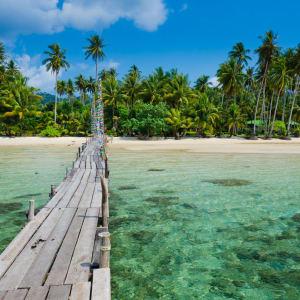 Individuelles Inselhüpfen durch 3 Länder ab Bangkok: Ko Kood