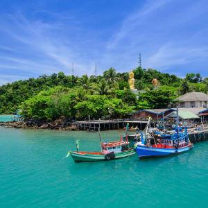 D'île en île dans le golfe de Thaïlande en individuel de Ko Chang: Ko Kood Ao Salat Bay