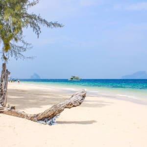D'île en île au sud de la Thaïlande de Ko Lanta: Ko Kradan