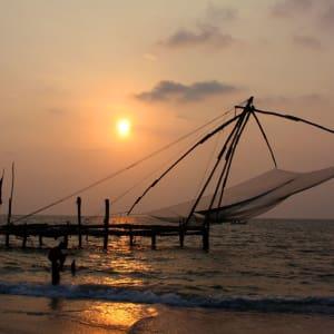 Le sud diversifié de l'Inde de Kochi: Kochi: Chinese fishing net