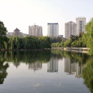 Circuit spectaculaire du Yunnan au Tibet de Kunming: Kunming Green Lake Park 003