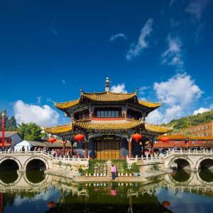 Découverte active du Yunnan de Kunming: Kunming: Yuantong Tempel