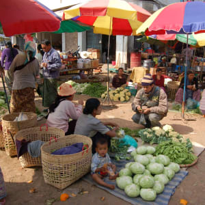 Tribus montagnardes de Kyaing Tong: Kyaing Tong market
