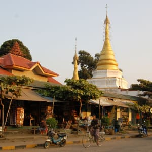Tribus montagnardes de Kyaing Tong: Kyaing Tong: street scene in the city