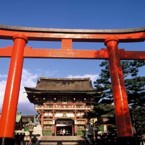 Circuit en groupe «Fuji» de Kyoto: Kyoto Fushimi Inari Torii
