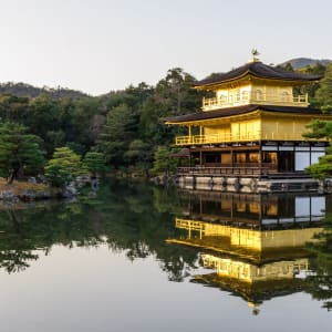 Klassisches Japan ab Tokio: Kyoto Golden Pavilion Kinkakuji