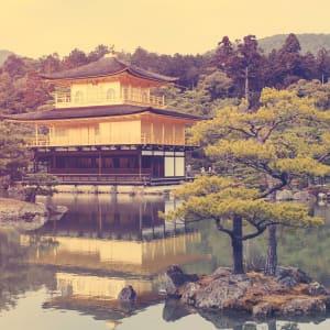 Vielfältiges Japan ab Tokio: Kyoto Golden Pavilion Kinkakuji