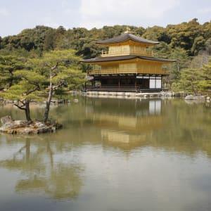 Tour de ville de Kyoto - une journée: Kyoto Golden Pavilion Kinkakuji