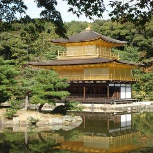 Weltkulturerbe Kyoto - halber Tag: Kyoto Golden Pavilion Kinkakuji