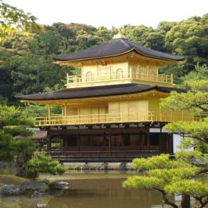 Kyoto per Fahrrad - Ganzer Tag: Kyoto Golden Pavilion Kinkakuji