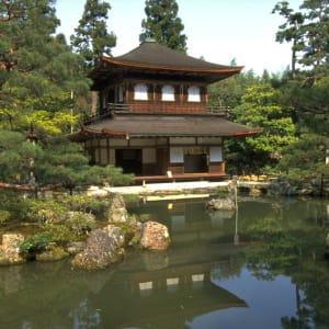 Kyoto per Fahrrad - Ganzer Tag: Kyoto Silver Pavilion Ginkakuji