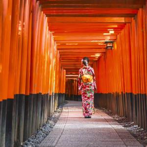 Kyoto auf eigene Faust, mit Fahrzeug - Halber Tag: Kyoto Torii Gates