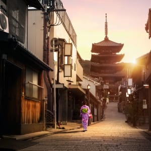 Kyoto de son propre chef, sans véhicule, demi jour: Kyoto Yasaka Pagoda