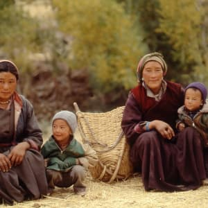 Ladakh luxuriös ab Leh: Ladakhi folk