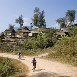 Mountainbike Erlebnis in Luang Prabang: Laos Biking