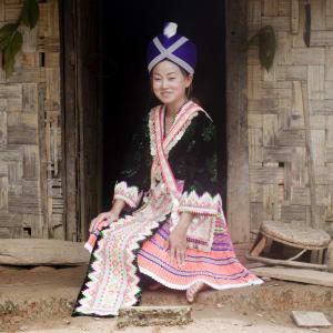 Faszinierendes Nord-Laos ab Luang Prabang: Laos: Hilltribe Girl
