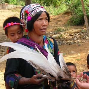 Bergstämme und Natur in Nord-Laos ab Luang Prabang: Laos hilltribes