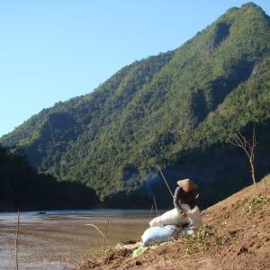 Bergstämme und Natur in Nord-Laos ab Luang Prabang: Laos Nong Khiaw