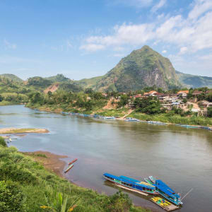 Laos Intensiv ab Vientiane: Laos Nong Khiaw