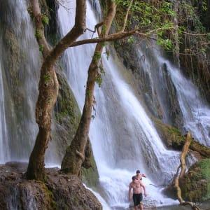 Le sud ravissant du Laos de Pakse: Laos Waterfall in the South