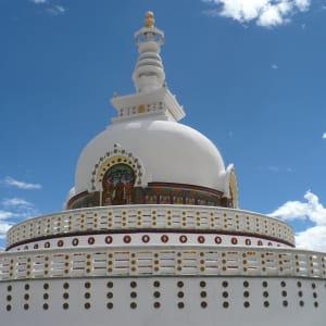 Les montagnes spectaculaires de Ladakh de Leh: Leh: Pagoda