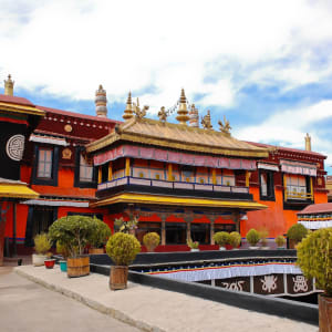 Circuit spectaculaire du Yunnan au Tibet de Kunming: Lhasa Jokhang temple
