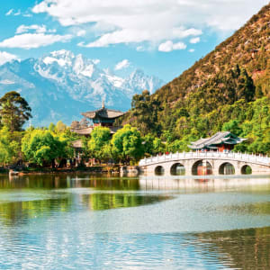 Höhepunkte Yunnans ab Kunming: Lijiang: Black Dragon Pool