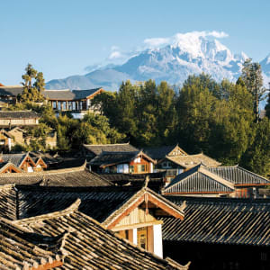 Höhepunkte Yunnans ab Kunming: Lijiang: old town in the morning