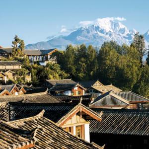 Les hauts lieux du Yunnan de Kunming: Lijiang: old town in the morning