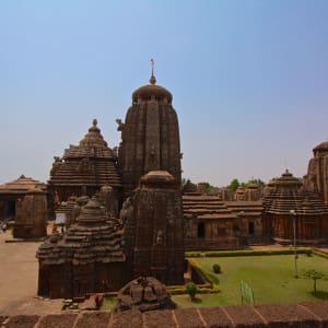 Odisha, terre des temples de Bhubaneswar: Lingaraj Temple Bhubaneswar