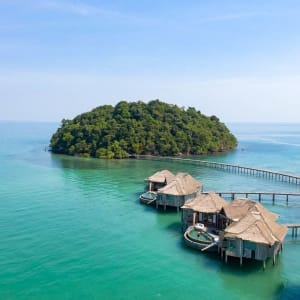 Song Saa Private Island in Sihanoukville & Inseln: Aerial Koh Bong