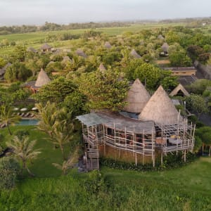 WakaGangga in Südbali: Aerial Shot