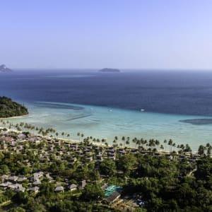 Phi Phi Island Village Beach Resort in Ko Phi Phi: Aerial Shot