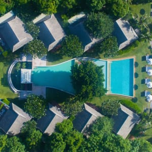 Devasom Hua Hin Resort: Aerial View