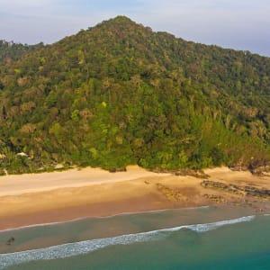 Wa Ale in Mergui Archipel: Aerial View