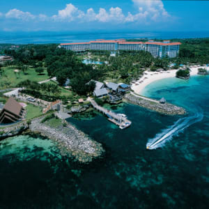 Shangri-La's Mactan Resort & Spa à Cebu: Aerial View