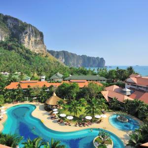 Aonang Villa in Krabi: Aerial View
