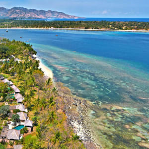 The Oberoi Beach Resort, Lombok: Aerial view