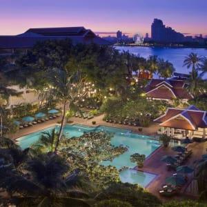 Anantara Riverside Bangkok Resort: Aerial View