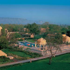 The Oberoi Rajvilas in Jaipur: Aerial View