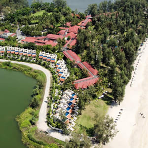 Dusit Thani Laguna in Phuket: Aerial View