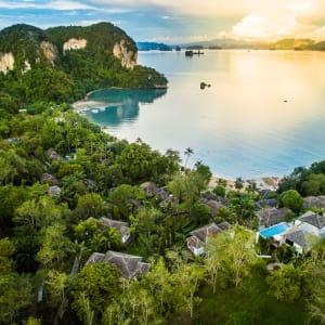 Paradise Koh Yao in Ko Yao: Aerial View