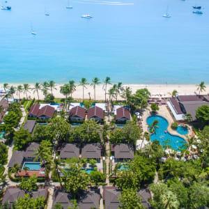 Peace Resort à Ko Samui: Aerial View