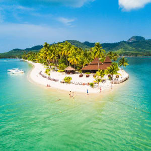 Sivalai Beach Resort in Ko Mook: Aerial View
