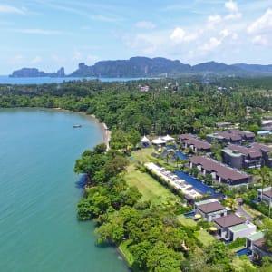 The ShellSea Krabi: aerial view