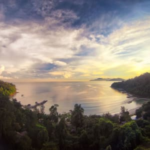 Bungaraya Island Resort à Kota Kinabalu:  Aerial View