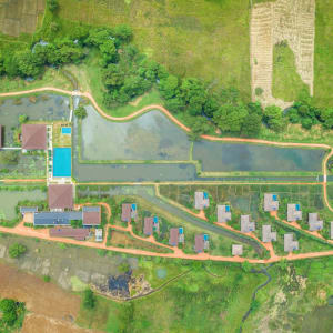 Water Garden Sigiriya: Aerial View