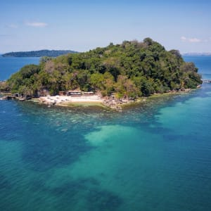 Six Senses Krabey Island à Sihanoukville & Îles: Aerial view of Krabey Island