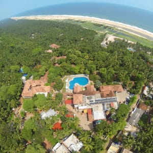 The Travancore Heritage à Kovalam: Arial View