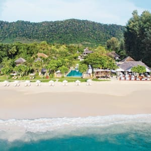 Layana Resort & Spa in Ko Lanta: Beach Aerial View